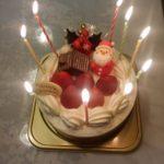 12月生まれは可笑しなケーキで